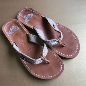 Roxy Leather Sandals